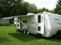 5th wheel keystone outback in excellent condition, well
