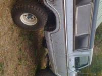 I have a 79 ford lifted on 38s .. It's a project truck