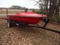 1971 14 ft traveler speed boat--costem painted & new