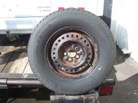 One good, used tire The size is P205/75R14 It is a