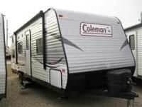 2015 COLEMAN 274BH, BRAND NEW WITH A 1 YEAR