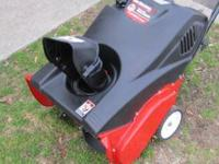 This yard machines snow blower runs great, call