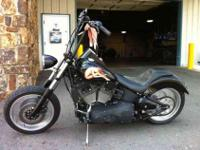 Custom 1 of kind '03 Harley Davidson Nightrain with 13k