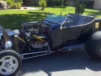 Up for sale is a 1923 Ford Model T Street Rod. The
