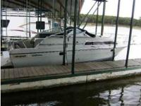 Docked on Lake Texoma, with docking fees paid up to