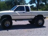 I have a 1993 toyota pickup has been my truck Sense