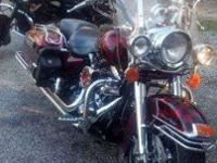 I have my beautiful 1997 road king for sale. It's fuel