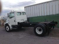 2002 Freightliner FL70 for pulling fifth wheels.