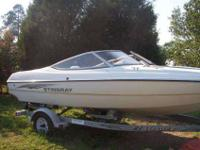 Hello, I am selling my 2003 stingray 180ls boat. I