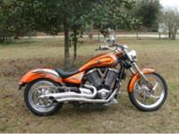 2006 Victory Vegas Nuclear Sunset Orange with Tribal