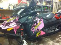 2011 Ski-Doo 800 Summit X 146 Etec special edition, it