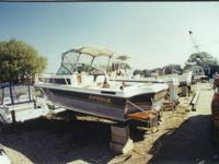 New GM 350 marine engine with less then 100 hours on