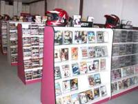 we had bought 5 movie stores and had over 25,000