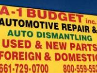 A-1 Budget Auto Repair & Junk Yard 42234 4th Street