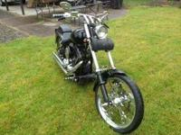 Harley Davidson Custom Softail, built in 2003 with