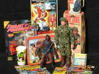 Comic books, toys, action figures, non sport trading