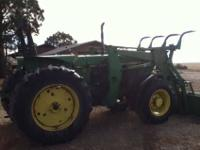 John Deere 2955. It has 5100 hours on it. It has a good