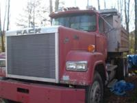 1989 Mack Superliner Dump 350 Mack Engine 12 Speed Mack
