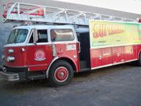1981 AMERICAN LA FRANCE WATER CHIEF TOTAL WIDTH 8 FEET,