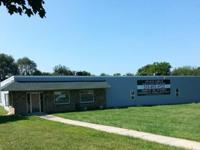 10,000 sf industrial bldg. with 8.4+ Acre lot - on Rt.