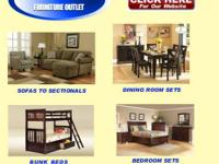 Brand New Furniture - Sale Prices  More Furniture On