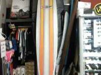 "used 10'4 x 23.75"" longboard surfboard no"