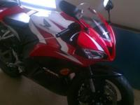 This bike is awesome! This Red and White 2009 Honda