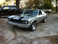 Selling my 77 Chevy Nova. It's my daily driver so it's