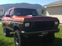 1979 Ford Bronco Everything has either been gone