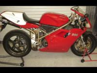 1999 Ducati Super Bike 996S Monoposto in mint