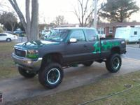 Selling My 2000 GMC Sierra Z71 Ext Cab (Lifted)Has The