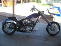 2002 Minneapolis Custom Cycle, ThunderBolt Chopper,