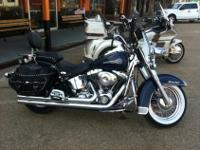We have a 2005 Heritage Softail for sale. This bike has