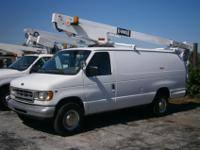 2000 Ford E350 Super Duty Bucket Van, Hi-Ranger, 34'