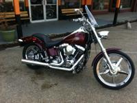 We are selling a used 2002 Heritage Softail Custom.