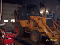 four cylinder diesel, works great, low hours machine at