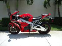 This is a perfect 2011 Honda CBR 1000 with ABS , this