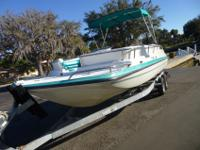 1995 Hurricane 23' Fun Deck. This boat is in excellent