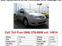 2006 Toyota Sienna Silver CE 4dr Front-wheel Drive