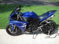 10,900 obo 2009 Yamaha R1,bike is like brand new with