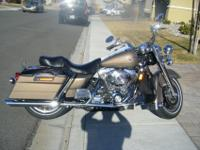 2005 Harley Davison Road King FLHRInew battery and