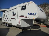 2002 EAGLE FIFTH WHEELMODEL 300S BY JAYCOAS YOU CAN SEE