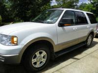 2003 Ford Expedition Eddie Bauer Edition, White/Tan
