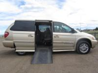 2001 Chrysler Town and Country Limited with IMS Rampvan