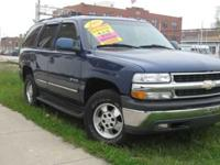 VERY CLEAN TAHOE WITH LEATHER, SUNROOF, DVD / TV,