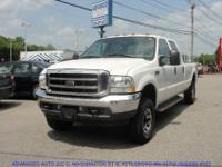 2004 Ford F250 Super Duty Lariat Crew Cab with the 8ft
