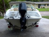Summer time is here and this is a great family boat! It