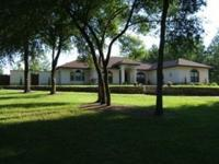 This 10 acre beautiful farm with pool, visitor home,