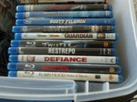 10 blu ray movies. $7 each or all for $65. Robin Hood