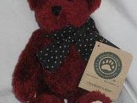 Cranbeary N. Bear plush Boyds Bear style #500100-02